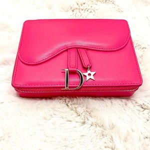 Pink Coffret Makeup Bag